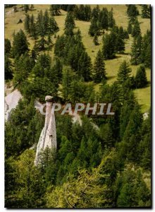 Postcard Modern Molines en Queyras Hautes Alpes Demoiselle Coiffee