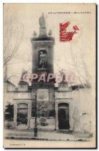 Old Postcard Aix en Provence Monument Sec