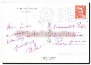 Modern Postcard Deauville View Aerienne