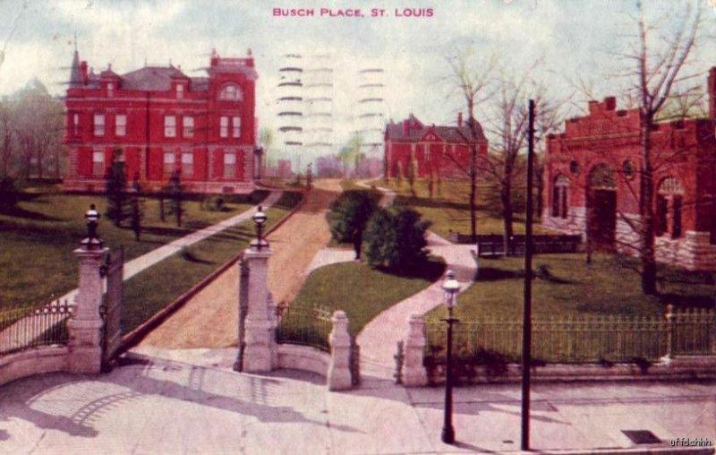 BUSCH PLACE ST. LOUIS, MO Anheuser - Busch Brewing Ass'n. 1909