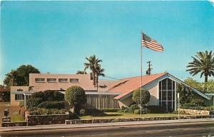 Phoenix Arizona~Mercer Mortuary And Chapel~Funeral Parlor Home~1950s Postcard