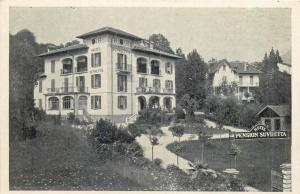Suisse Switzerland Lugano Pension Hotel Suvretta 1935