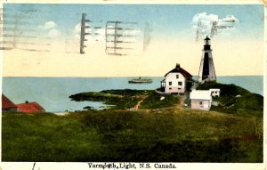Canada - Nova Scotia, Yarmouth. Lighthouse