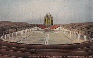 Interior Mormon Tabernacle Salt Lake City Utah