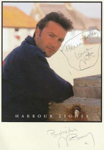 Harbour Lights BBC Nick Berry Hand Signed Cast Card Photo