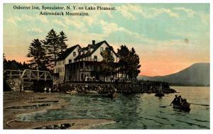 18490  NY  Speculater   Osborne Inn on Lake Pleasant