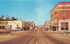 Port Angeles Washington~Street Scene~Lincoln Theatre-Drive-In~Cameras~60s Cars