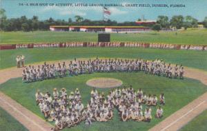DUNEDIN , Florida , 30-40s; Grant Field Stadium , Little League Baseball