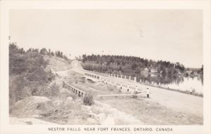 RP: Nester Falls near FORT FRANCES , Ontario , Canada , 1920-40s