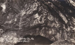 RP: Crystal Cave, Berks Co. , Pennsylvania , 1900-10s ;Mouth of Cave