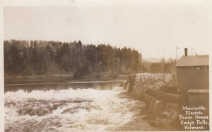 RP: CADY'S FALLS , Vermont , 00-10s ; Morrisville Electric Power House