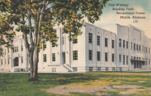 MOBILE , Alabama , 1930-40s ; Brookley Field Recreational Center