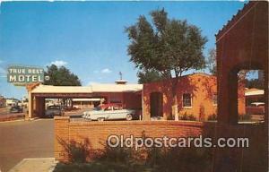 Route 66 Post card Amarillo, TX, USA True Rest Motel