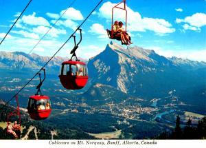 Canada - Alberta, Banff. Mt Norquay  (Aerial Lift)