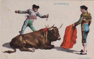 La Puntilla, Two matadors and dieing bull, 00-10s