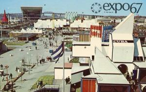 Canada - Quebec, Montreal. Expo '67 General View