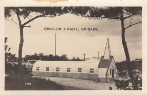 RP; OKINAWA, Japan, 1940s; Obascom Chapel during WW II