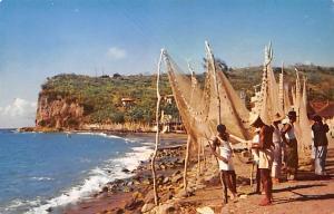 Africa, Afrika Fishing Village  Fishing Village