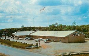 Mammoth Springs Arkansas~Riverview Motel~25 Units w/Music 1950s PC