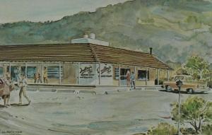 SANTA YSABEL , California , 1960s; Dudley's Bakery & Restaurant, AS; J.J. Stoner