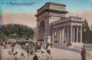 USA - Band Strand Golden Gate Park San Francisco California 03.51
