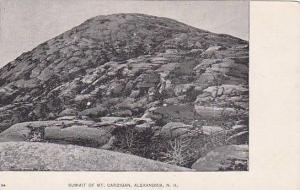 New Hampshire Alexandria Summit Of Mount Cardigan