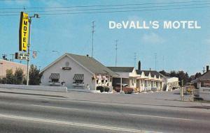 DeVALLs Motel , Vancouver , B.C. , Canada , 50-60s