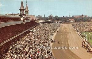 The Kentucky Derby Louisville, Kentucky, KY, USA Unused
