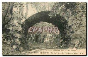 Old Postcard St Cloud Parc Le Pont du Diable