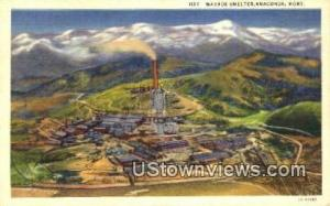 Washoe Smelter Anaconda MT Unused