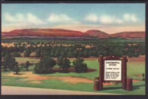 Continental Divide NM Postcard 4645
