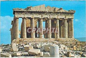 Postcard Modern Athens Parthenon for the O