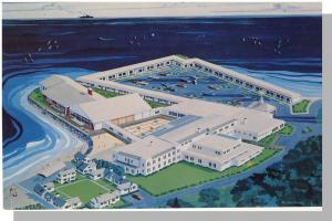 Provincetown/P'town, Mass/MA Postcard, Inn/Motel, Cape Cod
