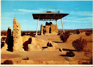 Arizona Coolidge Casa Grande Ruins National Monument Big House 1979