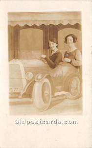 Women in Car Unused