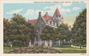 Ohio Gallipolis Administration Building Gallipolis State Institute Curteich