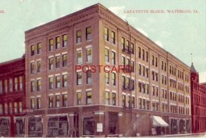 1909 LAFAYETTE BLOCK, WATERLOO, IOWA