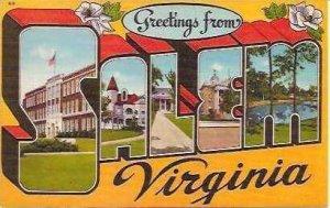 VA Salem Greetings From