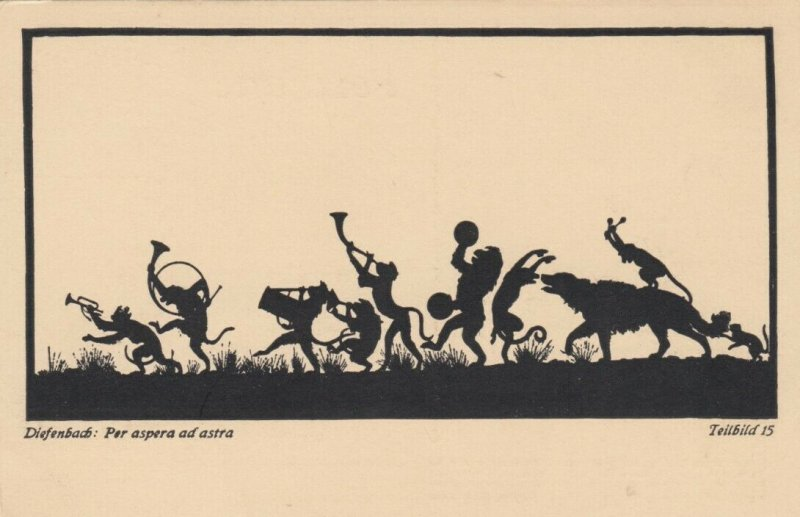 DIEFENBACH : Fantasy Silhouette , 00-10s ; Teilbild 15