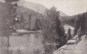 Along The Flathead River, Flathead Co., Montana, PU-1909