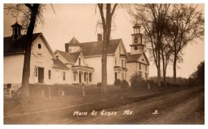 Maine  Sebec  Main Street  RPC