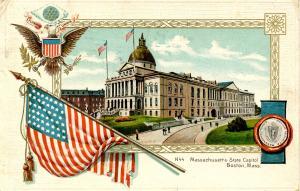 MA - Boston. State Capitol