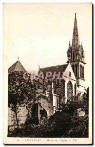 Postcard Old Saint Cast Apse of The Church