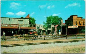 1960s Oklahoma City ROUTE 66 Postcard FRONTIER CITY, U.S.A. Camera Shop Unused