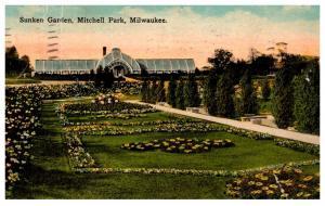 Wisconsin Milwaukee , Mithcell Park , Sunken Garden