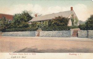 FLUSHING , L.I. , New York, 1901-07 ; Garretson Home Built in 1659