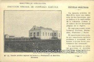 Escuela practica regional de Lecheria y Praticultura de Bell Ville Cordoba Ar...