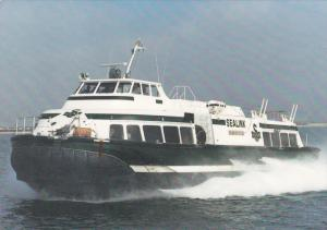 HM527 Sidewall Hovercraft , Sealink Ferry , Hong Kong China , 50-80s