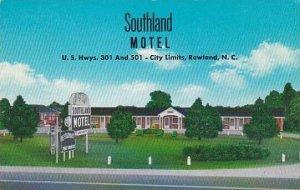North Carolina Rowland Southland Motel
