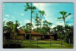 Bonita Springs FL- Florida, Corkscrew Swamp, Visitors Center, Chrome Postcard